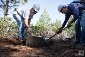 Tahoe Mountain Guides and Truckee Trails Volunteer Trail Day